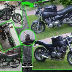 Une bien verte : Kawasaki Zéphyr