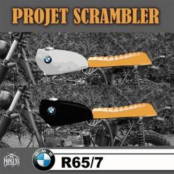 PROJET SCRAMBLER – BMW R65 (suite)