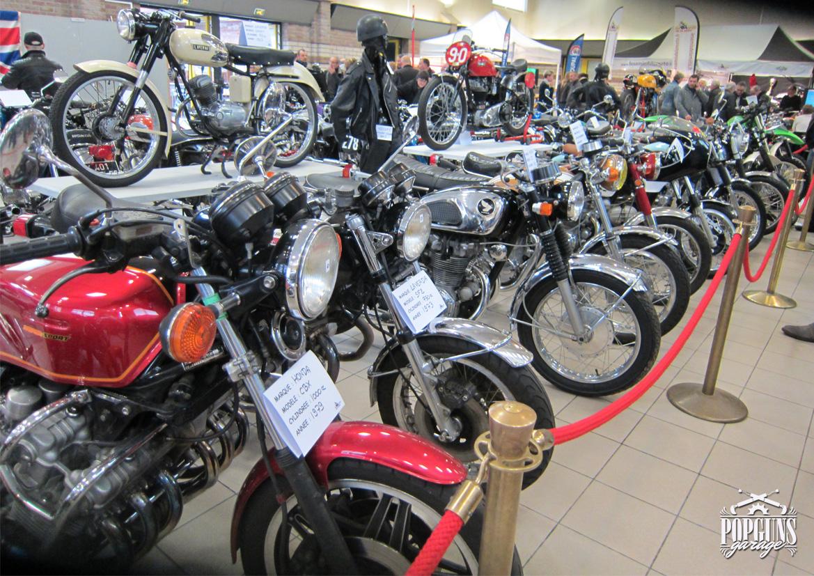 Vintage moto show 2017 popguns garage for Location garage moto