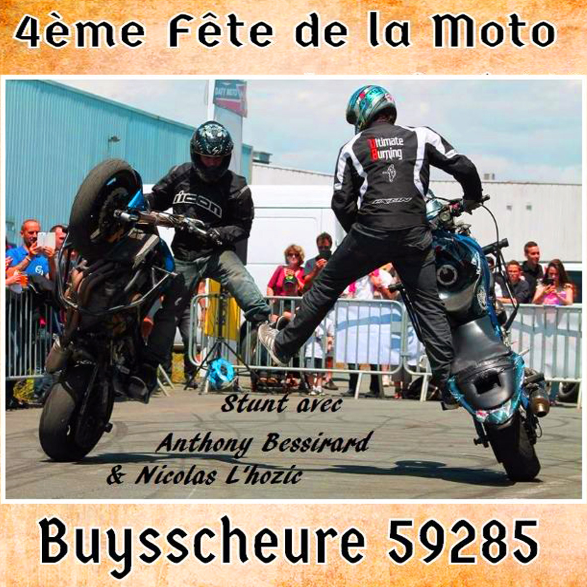 fete de la moto buysscheure 59 popguns garage. Black Bedroom Furniture Sets. Home Design Ideas