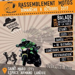 Rassemblement motos – Phil Moto Club