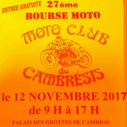 27éme Expo Bourse Moto de Cambrai