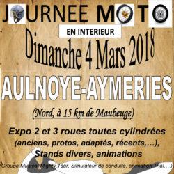 Journée MOTO à AULNOYE-AYMERIES